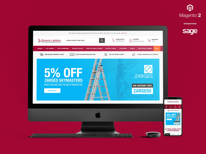 Magento 2 Website Design & Development