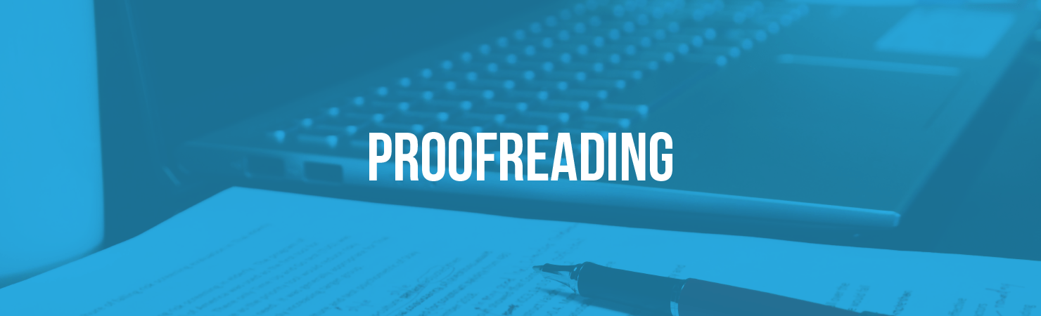 Proofread your site for spelling and grammar