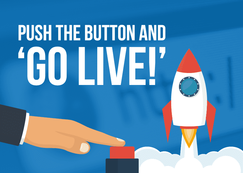 The 5 most common questions we're asked about website Go Live