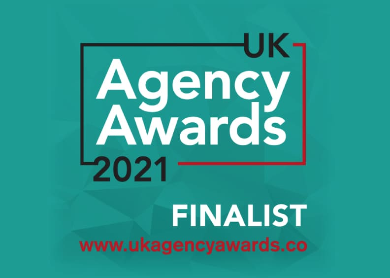 21Digital nominated as a finalist for UK Agency Awards