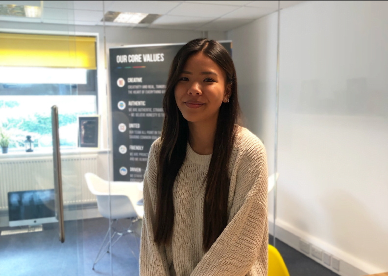 Say hello to Sarah Chan, our newest digital apprentice!
