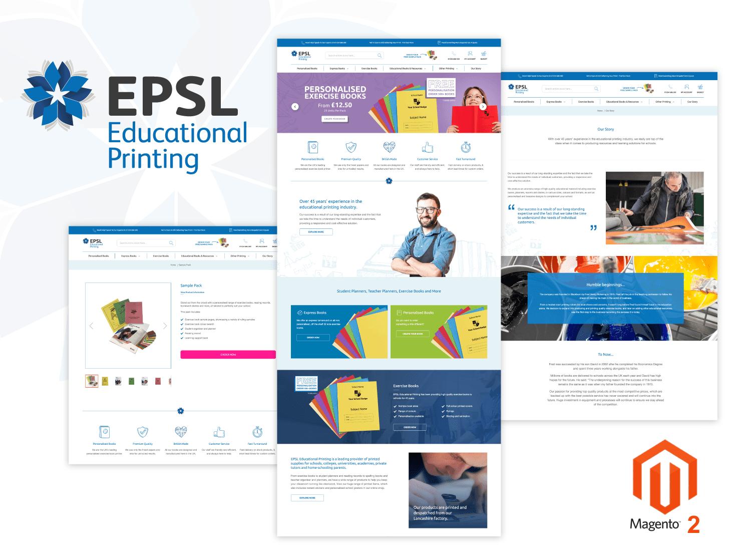 EPSL - Magento 2 Website