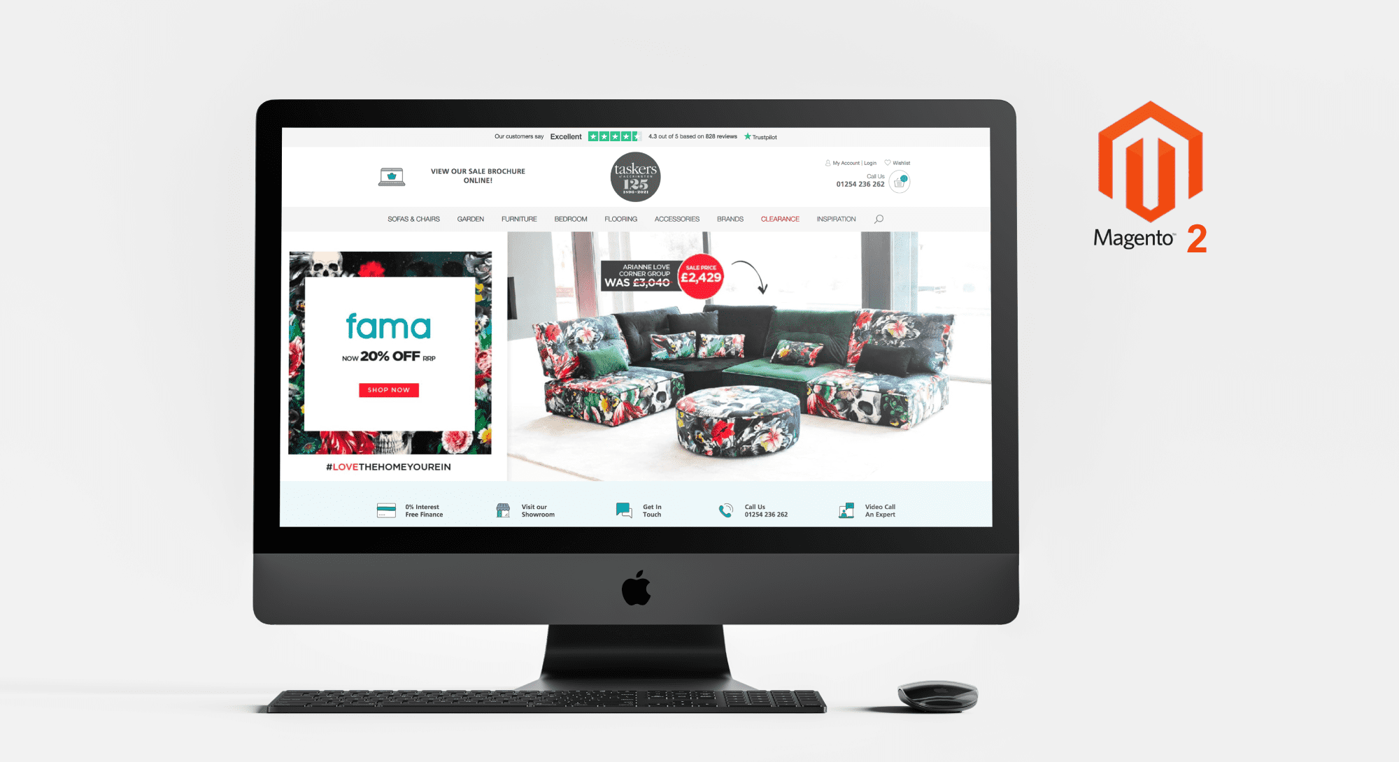 Taskers of Accrington - Magento 2 eCommerce Platform