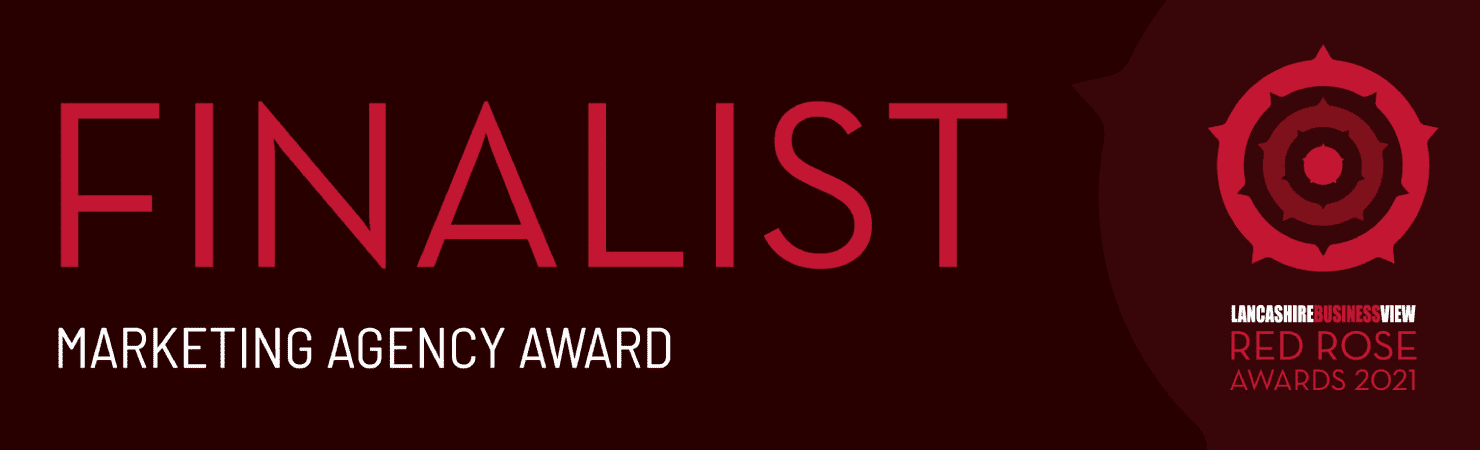 We've been shortlisted for the Red Rose Awards 2021!